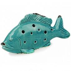 fisk porcelæn turkis