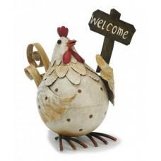 høne velkommen