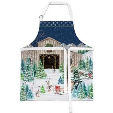 Forklæde CHRISTMAS SNOW Michel Design Works