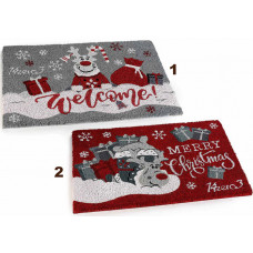 Dørmåtte Kokos Welcome Christmas