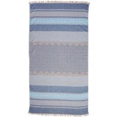 Hammam Håndklæde blå 90 x 180cm