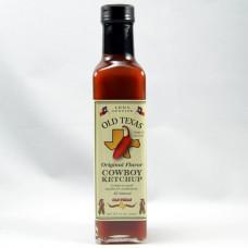Old Texas cowboy ketchup