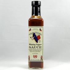 Old Texas Whisky pepper steak sauce