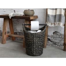 Kurv med håndtag til toiletpapir