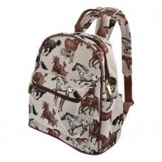 rygsæk med heste
