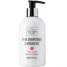 Håndlotion Pink grapefruit arganolie - THE SCOTTISH FINE SOAPS COMPANY