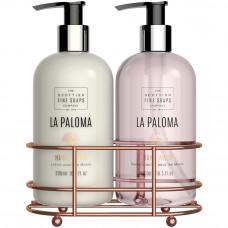 Sæbe/lotion sæt La Paloma - THE SCOTTISH FINE SOAPS COMPANY