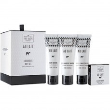 Au Lait Luxus Gavesæt Scottish fine soap company