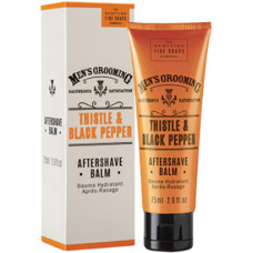 After shave balm 75ml Thistle & black pepper - THE SCOTTISH FINE SOAPS COMPANY