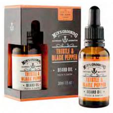 Face & Beard oil 30ml - THE SCOTTISH FINE SOAPS COMPANY