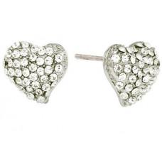 Ørestickers Heart Sølv SD Design