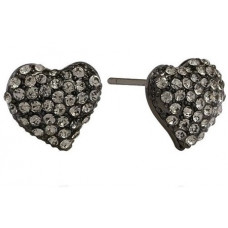 Ørestickers Heart Black Diamond SD Design