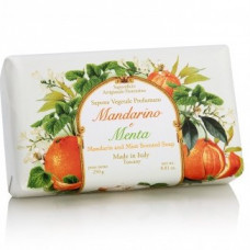 Iatliensk sæbe med duft af mandarin og mint
