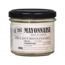 LE CRU Mayonnaise Basilikum & citron 100 g