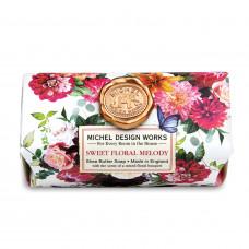 Hånd & Badesæbe Sweet floral melody Michel Design Works