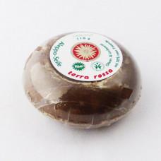Aleppo Terra rossa rund Vegansk sæbe med 30% rød ler