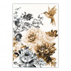 Viskestykke Gardenia Michel Design Works