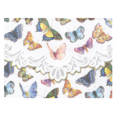 Kort og kuverter BUTTERFLIES Michel Design Works